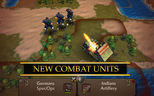 Screenshot for Civilization Revolution 2 in United States Play Store