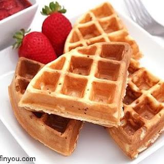 Classic (Belgian) Waffles.