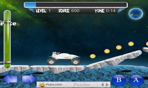 Moon Escape Physics Game FREE - screenshot thumbnail