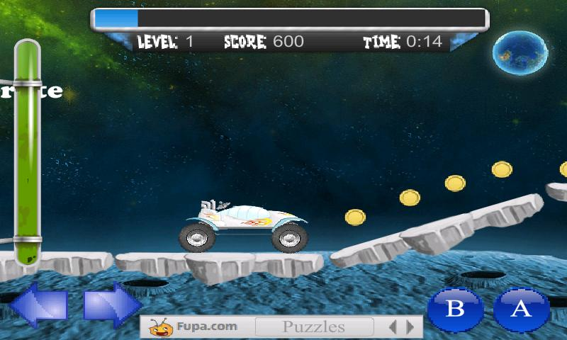 Moon Escape Physics Game FREE - screenshot