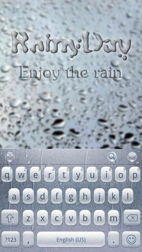 RainyDay for Emoji Keyboard  screenshots 1