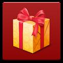 Xmas gift logo