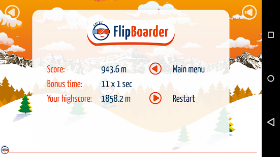 Flip Boarder - Touch Snowboard- screenshot thumbnail