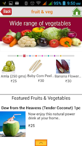 Vegwala.com screenshot 1