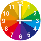 Colorful Alarm Clock Widget