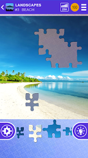 100 PICS Puzzles - FREE Jigsaw Screenshot 1