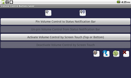 Volume Control Buttons Saver- screenshot thumbnail