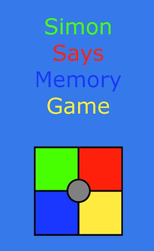 Simon Says Retro Memory Game