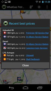 WhatGas Petrol Prices Pro- screenshot thumbnail