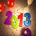 Hình nền năm mới 2013 icon