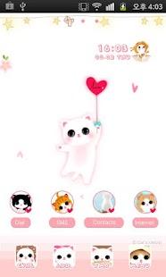 CUKI Theme Balloon Cat