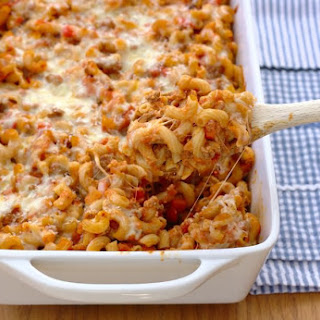 Cheesy Mac Bolognese