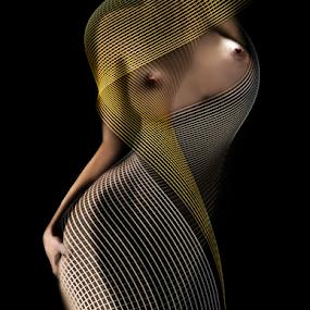 Lady by Carmen Velcic - Digital Art People ( abstract, body, nude, woman, she, lady, digital, curves )