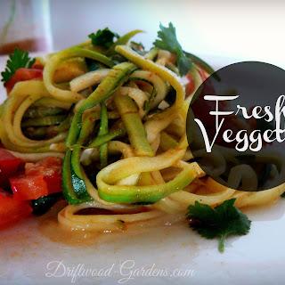 Fresh Zucchini Veggetti
