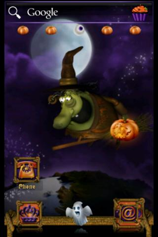 【免費個人化App】ADW Theme Halloween Witch-APP點子