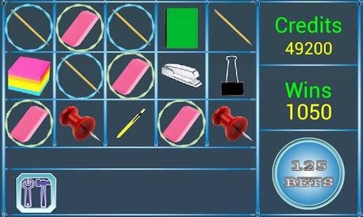 A8 Back 2 School Slot Machine screenshot