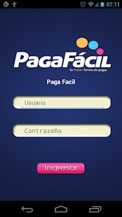 Paga Fácil- screenshot thumbnail