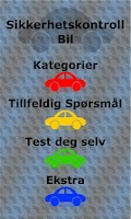 Screenshot of Driverslicencetest Norway