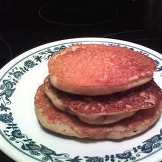 Dairy and Gluten-Free 'Buttermilk Pancakes'.