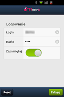 Screenshot of Moberia.Phone SIP Client