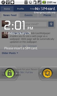 Web LiveWallpaper - screenshot thumbnail