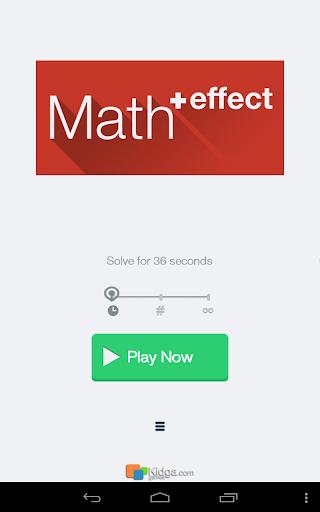算术冲刺 Math Effect