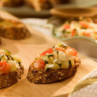 Mediterranean Vegetable Bruschetta