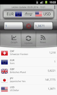 Währungsrechner Easy Currency Screenshot