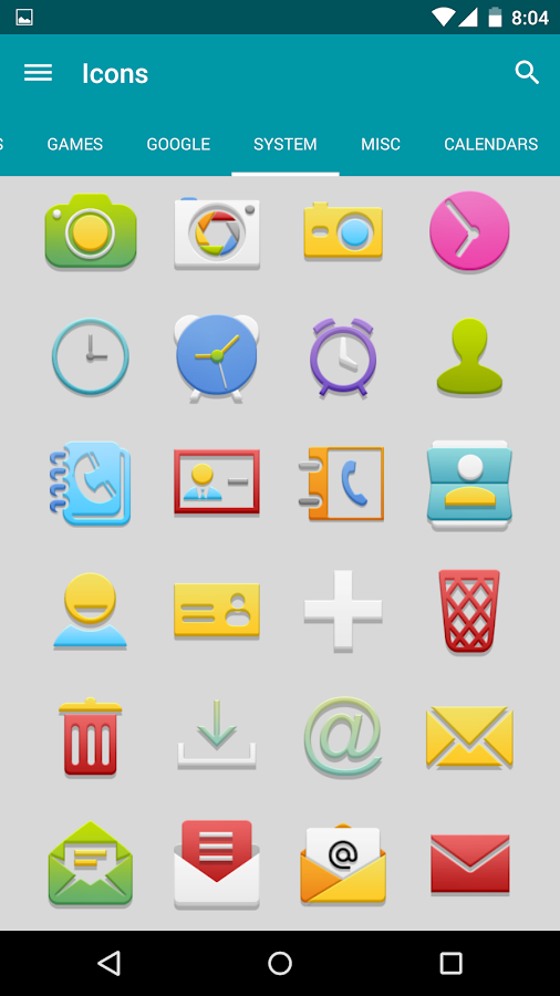 Vion - Icon Pack - screenshot