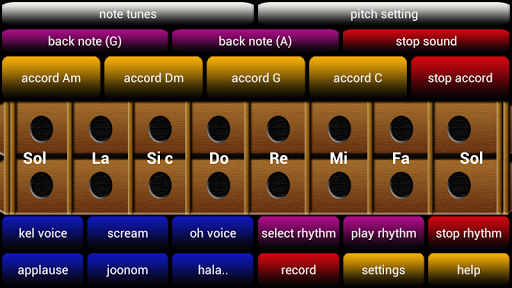 oriental musical instru demo