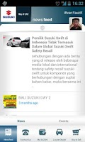 Screenshot of Suzuki Indonesia
