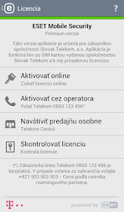 Mobile Security Telekom Edícia - screenshot thumbnail