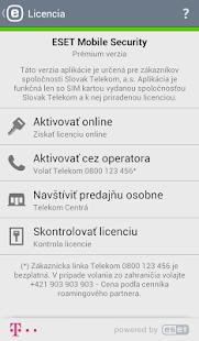 Mobile Security Telekom Edícia - screenshot thumbnail