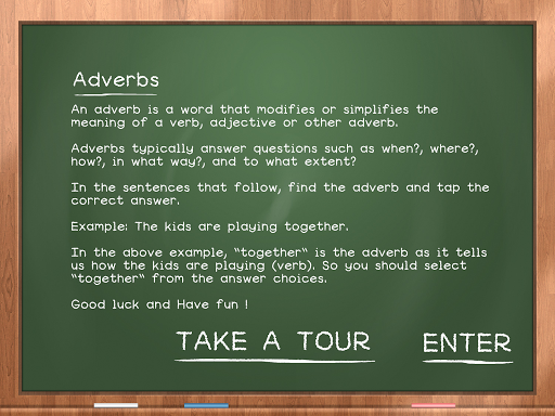 Adverbs For Kids