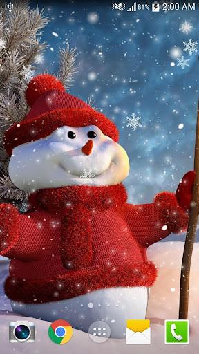 크리스마스 HD LWP NO AD