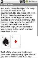 Screenshot of NLHE Poker Trainer (No Limit)