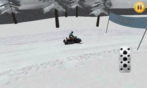 Snow Car 3D