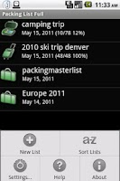 Screenshot of Packing List Cloud Connector