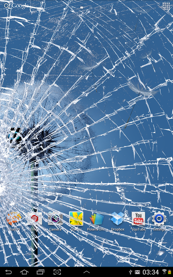 Cracked Screen Prank- screenshot