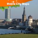 Dusseldorf Street Map logo