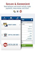 Screenshot of Capital One® Mobile