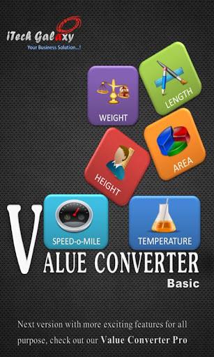 Value Converter BASIC