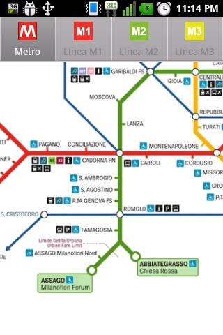 Milan Metro - screenshot