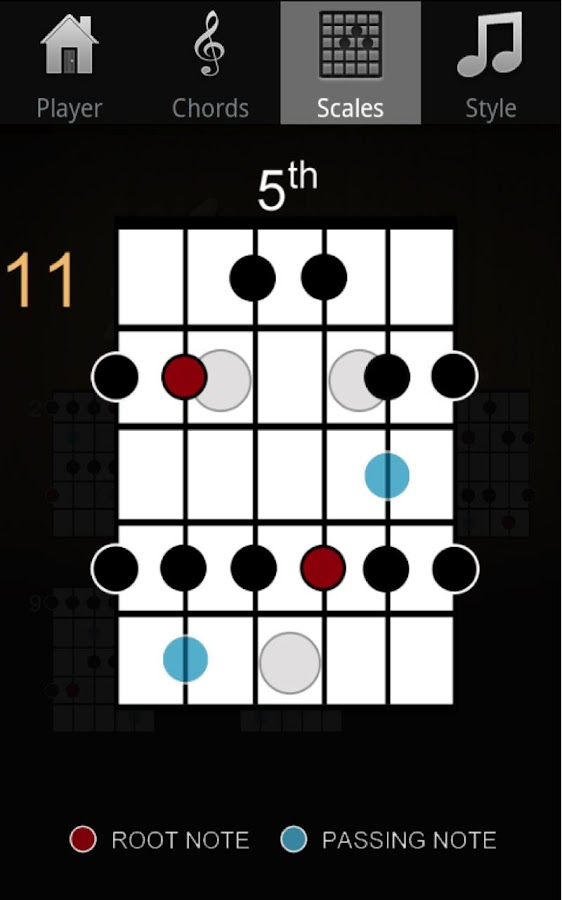 Guitar Jam Tracks Scales Buddy - screenshot