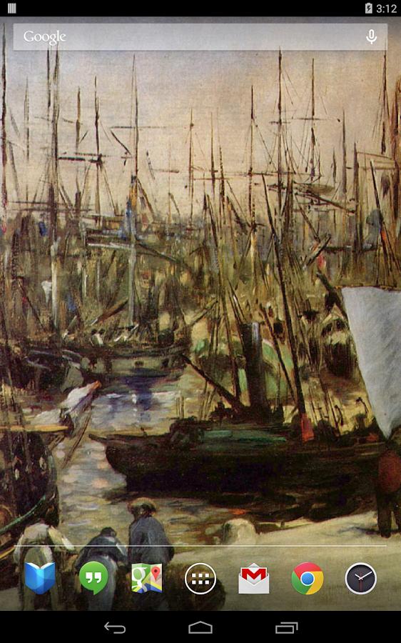 Édouard Manet Live Wallpaper - screenshot