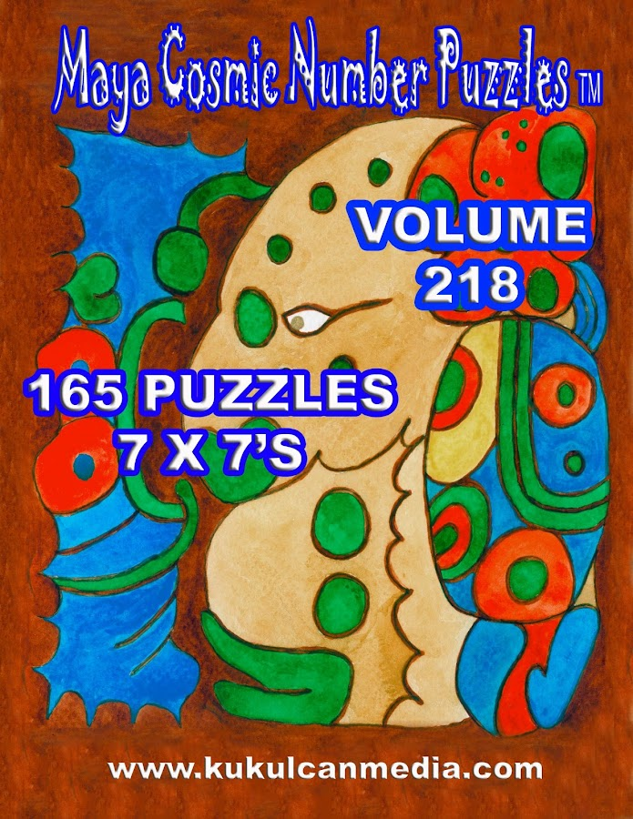 MAYA COSMIC NUMBER PUZZLES 218 - screenshot