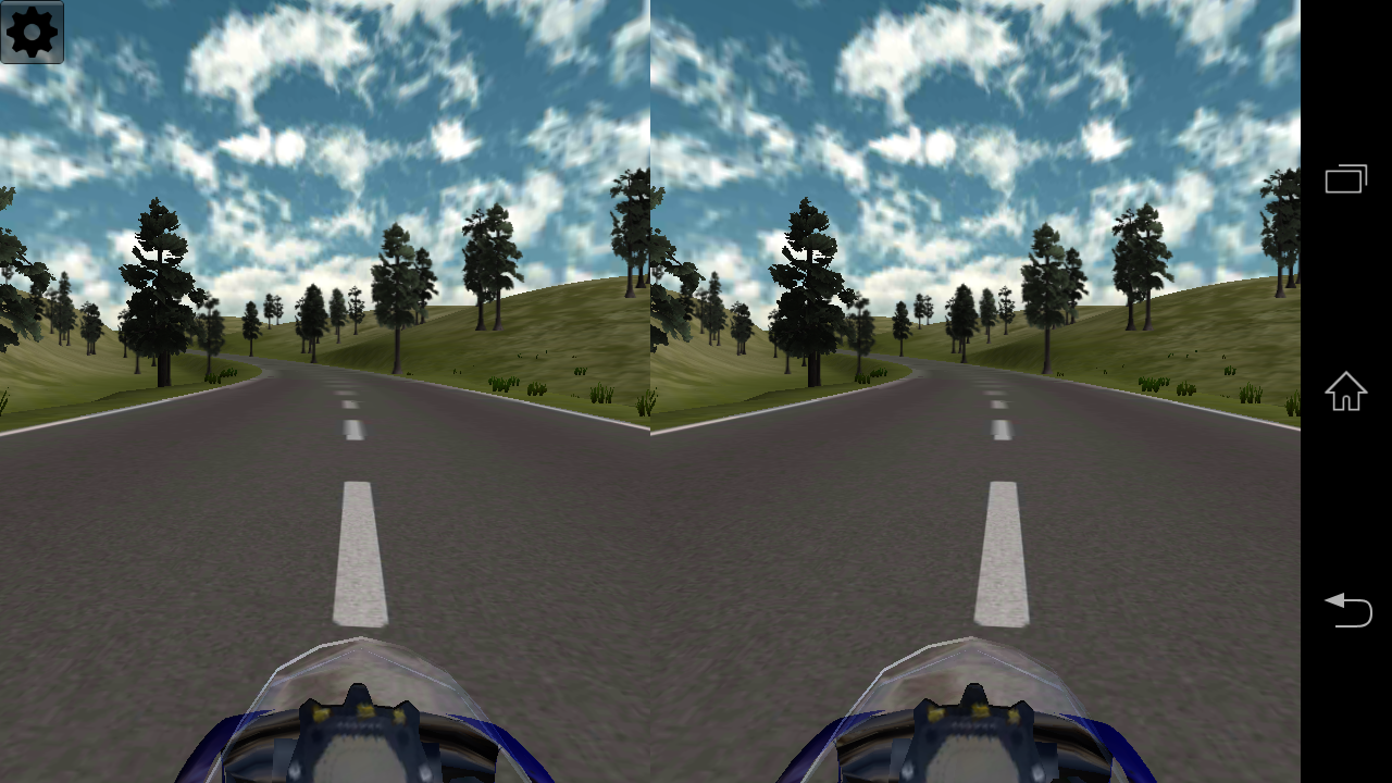 VR Motorbike Demo- screenshot