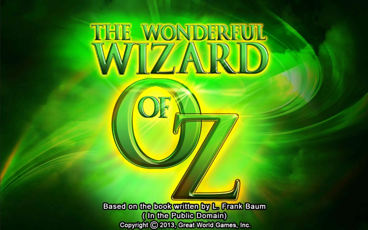 Wonderful Wizard of Oz Slot - screenshot