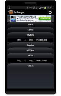 CryptCoin Monitor- screenshot thumbnail