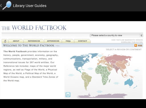 Library User Guides